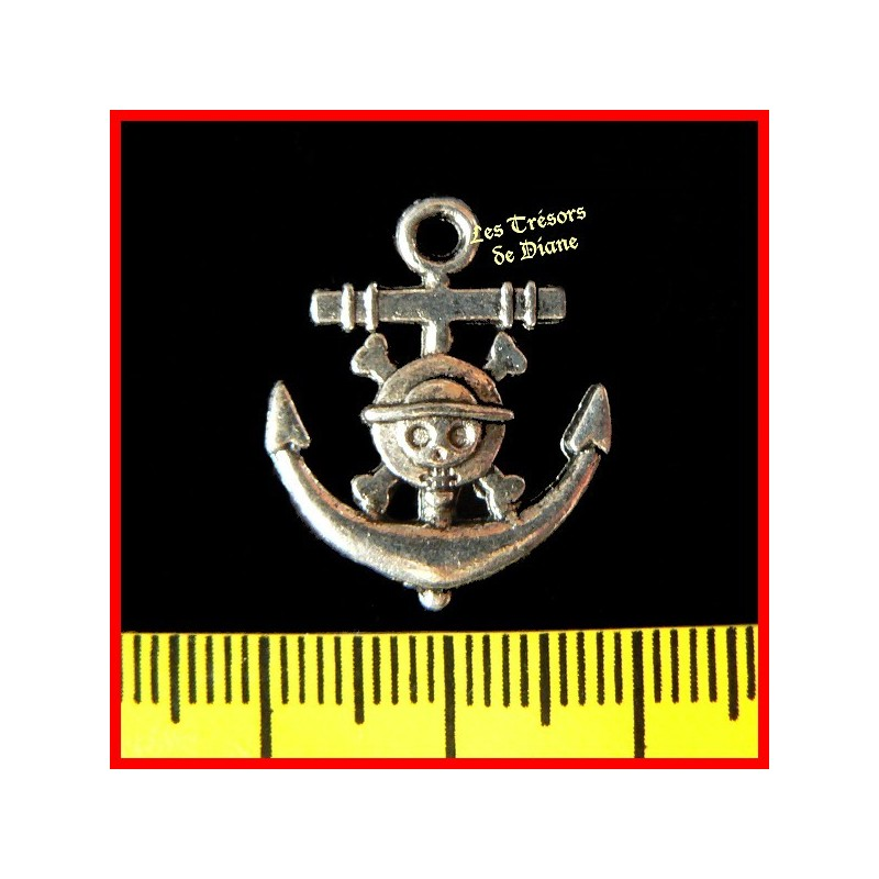 Charm ANCRE MARINE PIRATE