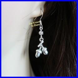 Boucles d'oreilles fantaisie GLANDS