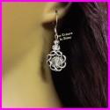 Boucles d'oreilles en cristal Swarovski