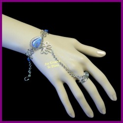 Bracelet de main en sodalite naturelle