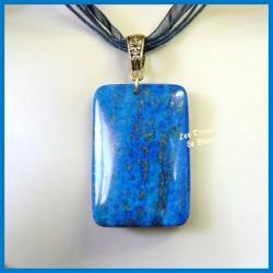 Pendentif rectangulaire en Lapis Lazuli naturel