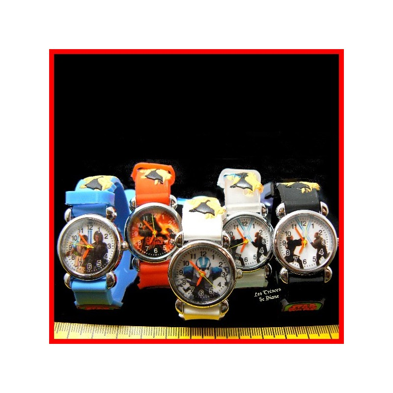 "Montre fantaisie ""STAR WARS"""