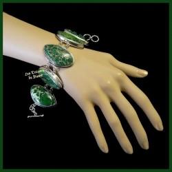Bracelet PRESTIGE en VARISCITE naturelle