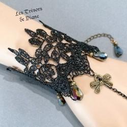 Bracelet en DENTELLE et AGATE