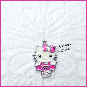 Charm HELLO KITTY rose