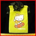 Petit sac bandoulière en suédine HELLO KITTY