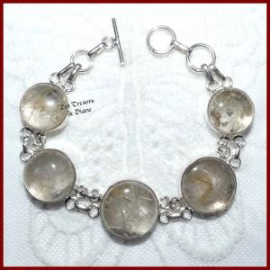 Bracelet en QUARTZ RUTILE...