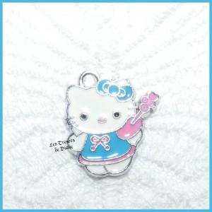 Charm HELLO KITTY bleu