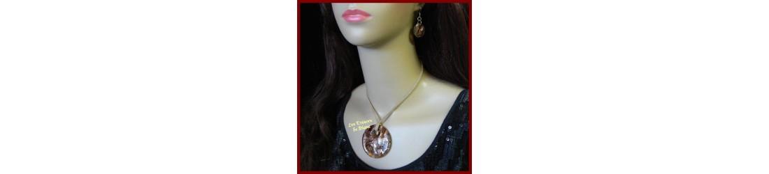 Bijoux en verre, Murano, cristal discount LES TRESORS DE DIANE colliers pendentifs boucles d'oreilles parures