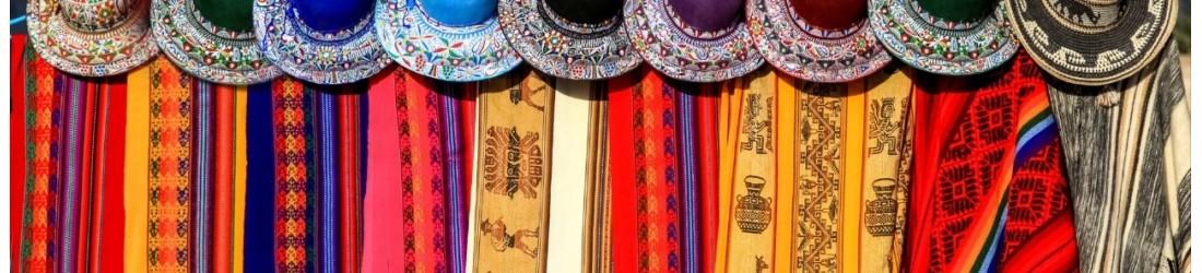 Bijoux boucles d'oreilles du Pérou LES TRESORS DE DIANE