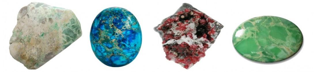 Colliers pendentifs en variscite naturelle à petit prix
