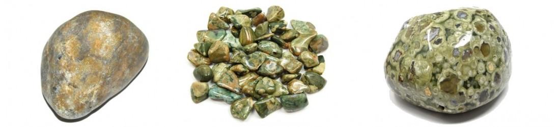Colliers pendentifs en rhyolite naturelle à petit prix
