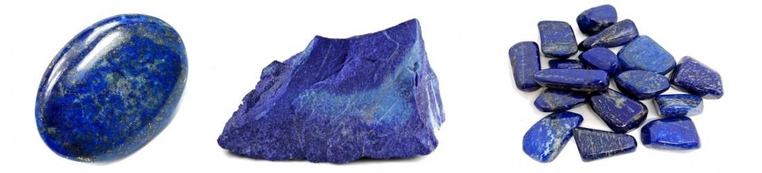 Bijoux boucles d'oreilles LES TRESORS DE DIANE en lapis lazuli naturel
